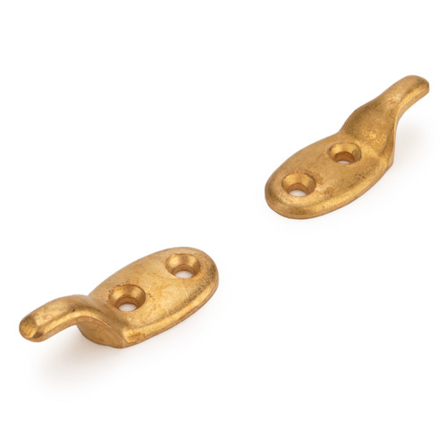Brass standard profile lacing hook