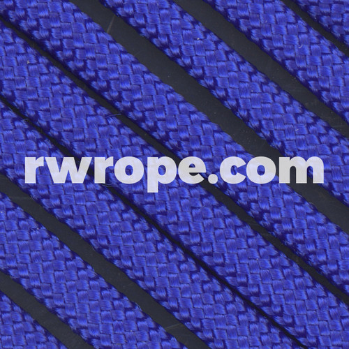 Paracord 550 in Electric Blue.