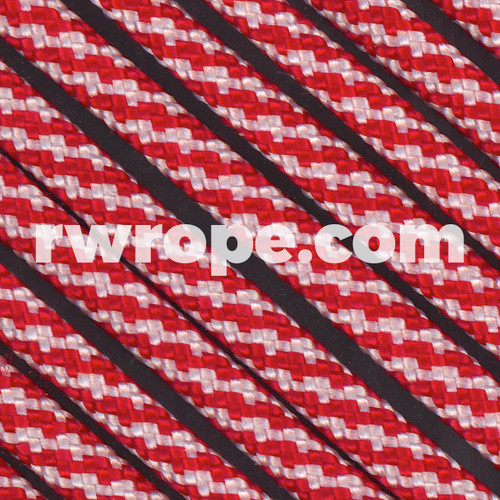 Paracord 550 in Candy Cane
