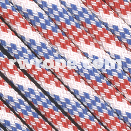 Paracord 425 in Red/White/Blue.