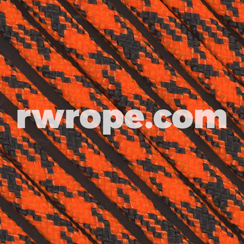 Paracord 425 in Neon Orange Camo.