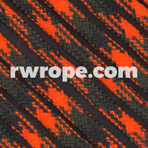 Paracord 425 in Orange Blaze Camo.