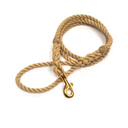 Langman POSH Rope Dog Leash - Beige