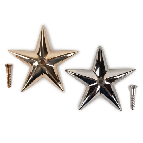 "Decorative Bronze Star - the ""good fortune"" star to bring your boat or home good luck."