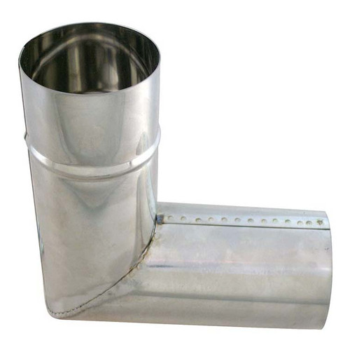 Davey & Co. Hot Pot Flue pipe-90 deg bend