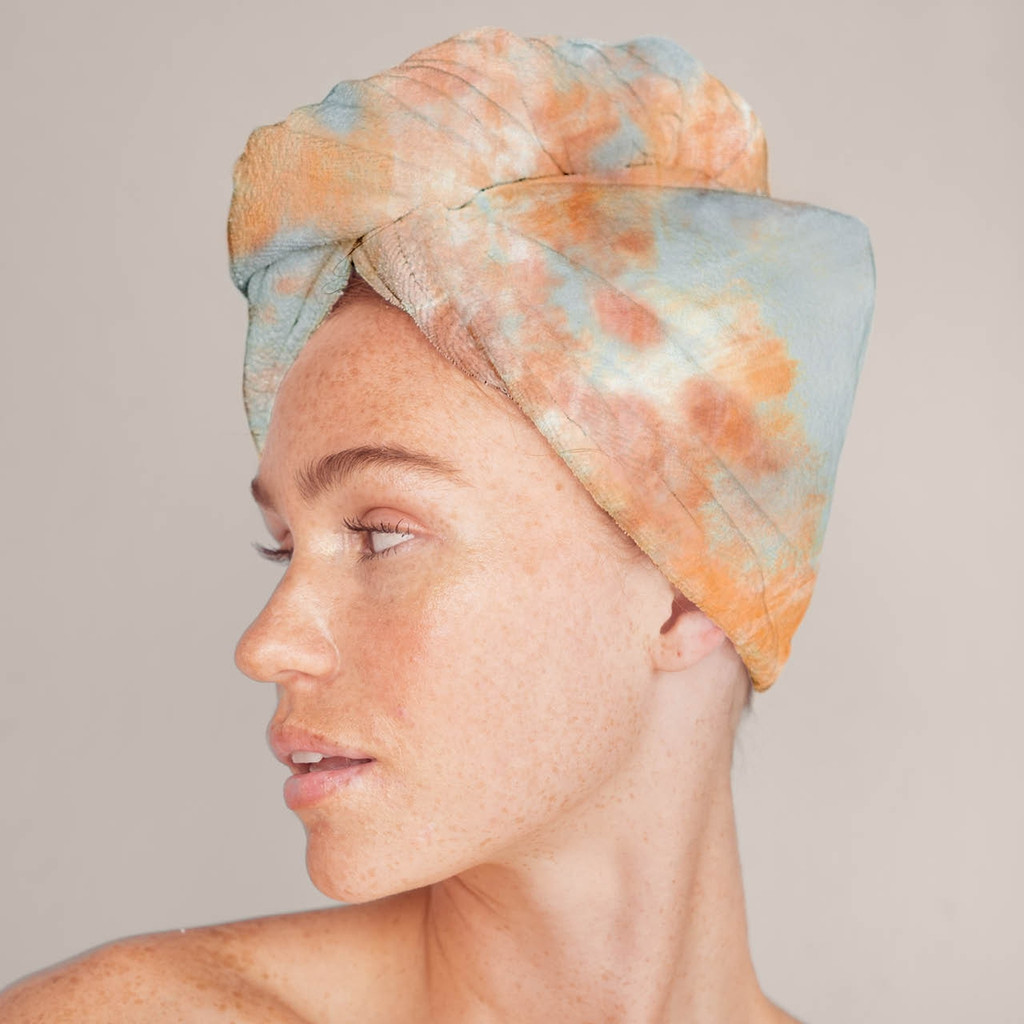 SUNSET T/D MICROFIBER HAIR TOWEL