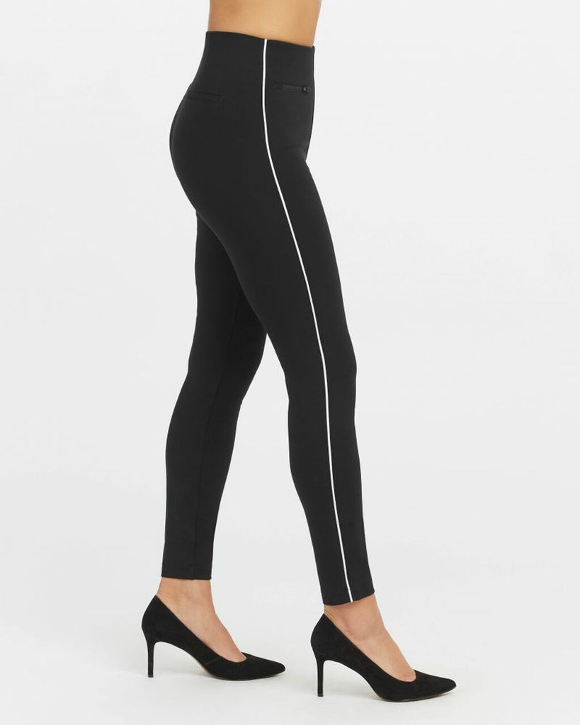 ANKLE PIPED PERF PANT