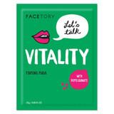 LET'S TALK VITALITY FACE MASK