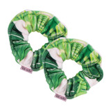 PALM TOWEL SCRUNCHIE