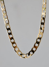 MODERN CURB CHAIN NECKLACE