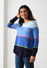 ELECTRIC LINE SWEATER