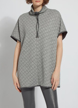 HAMILTON QUILTED PONCHO