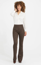 SUEDE FLARE PANT