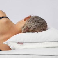 IVORY TOWEL PILLOWCOVER