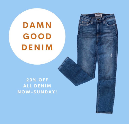 Our Annual Fall Denim Sale is Here!
