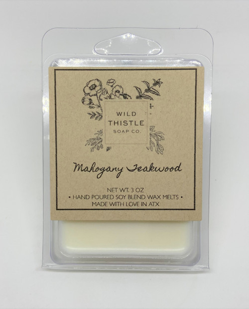 Mahogany Teakwood Wax Melts