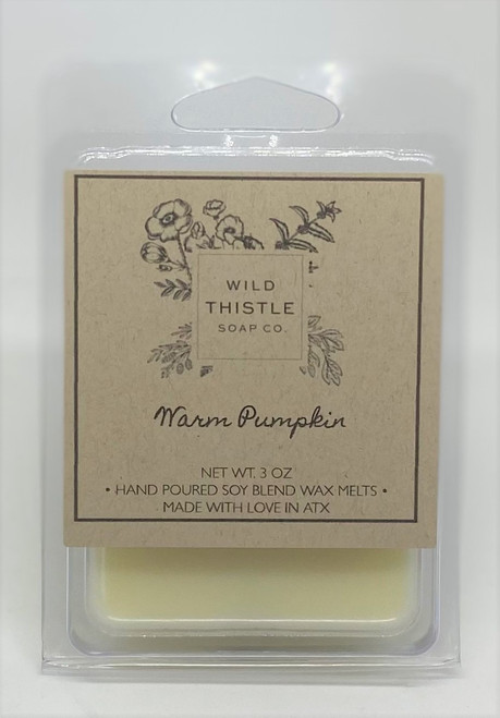 Warm Pumpkin Wax Melts