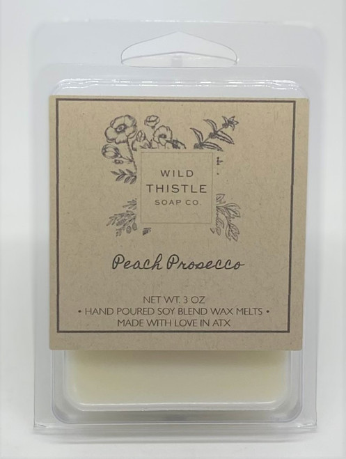 Peach Prosecco Wax Melts