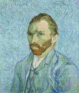 Vincent van Gogh Self Portrait Cross Stitch Pattern - Vincent van Gogh