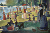 A Sunday Afternoon on the Island of La Grande Jatte Cross Stitch Pattern - Georges Seurat