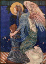 The Guardian Angel Cross Stitch Pattern
