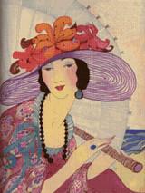 Vogue Magazine Cover - June 1, 1919 - Cross Stitch Pattern