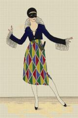 Arlequine by Fabius - Cross Stitch Chart