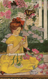 Mind of a Child Cross Stitch Pattern - Elizabeth Shippen Green