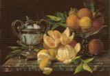 Nature Morte aux Oranges et Citron Cross Stitch Pattern - Jean Capeinick