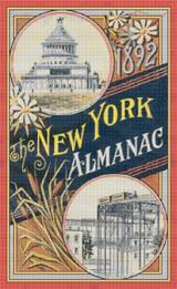 New York Almanac 1892 Cross Stitch Pattern