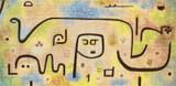 Insula Dulcamara Cross Stitch Pattern - Paul Klee