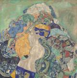 Baby Cross Stitch Pattern - Gustav Klimt