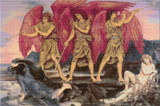 Aurora Triumphans Cross Stitch Pattern - Evelyn de Morgan