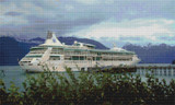Alaskan Harbor Cross Stitch Pattern