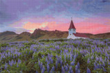 Vik i Myrdal Church Cross Stitch Chart - John Mejia