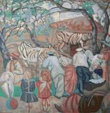 Zebras in the Zoo Cross Stitch Pattern - Boris Grigoriev