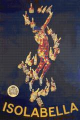 Isolabella Cross Stitch Pattern - Leonetto Cappiello