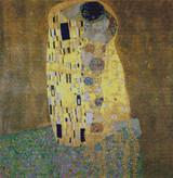 The Kiss Cross Stitch Pattern - Gustave Klimt