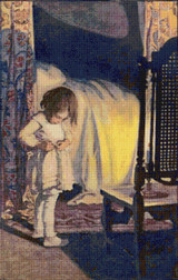 Dress Cross Stitch Pattern - Jessie Willcox Smith