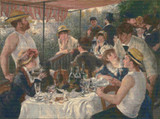 Luncheon of the Boating Party Cross Stitch Pattern - Pierre-Auguste Renoir