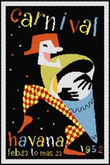 Carnival - Havana 1952 Cross Stitch Pattern