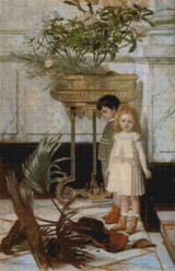 The Broken Flower Pot Cross Stitch Pattern - Jan C. Verhas