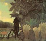 The Snake Charmer Cross Stitch Pattern - Henri Rousseau