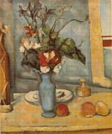 The Blue Vase Cross Stitch Pattern - Paul Cezanne