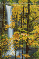 South Falls Cross Stitch Chart - John Mejia