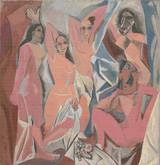 Les Demoiselles d'Avignon Cross Stitch Pattern - Pablo Picasso