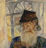 An Old Man from Olonets Cross Stitch Pattern - Boris Grigoriev