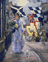 A Fête Day at Brighton Cross Stitch Chart - James Tissot