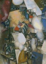 The Smokers Cross Stitch Chart - Fernand Léger