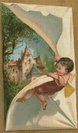 A Peek at the Castle Cross Stitch Pattern